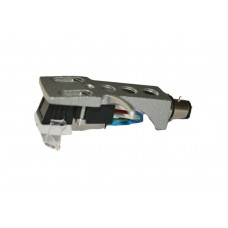 Silver Cartridge and Headshell unit with Stylus fits Yamaha YP B2, YP B4, YP D6, YP D8, YP D71, YP211, YP 400, YP 450, YP 700, YP 701, YP 800, P500