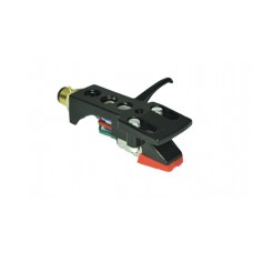 Black Cartridge and Headshell unit with Stylus fits Kam:Optonica STY158