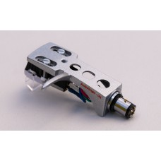 Silver Cartridge and Headshell unit with Stylus fits Kenwood, Trio KD1033, KD1500, KD2000, KD2033, KD2044, KD2055, KD2070, KD3033, KD3055, KD3070, KD4033, KD4100, KD5033, KD5066, KD5070, KD7010